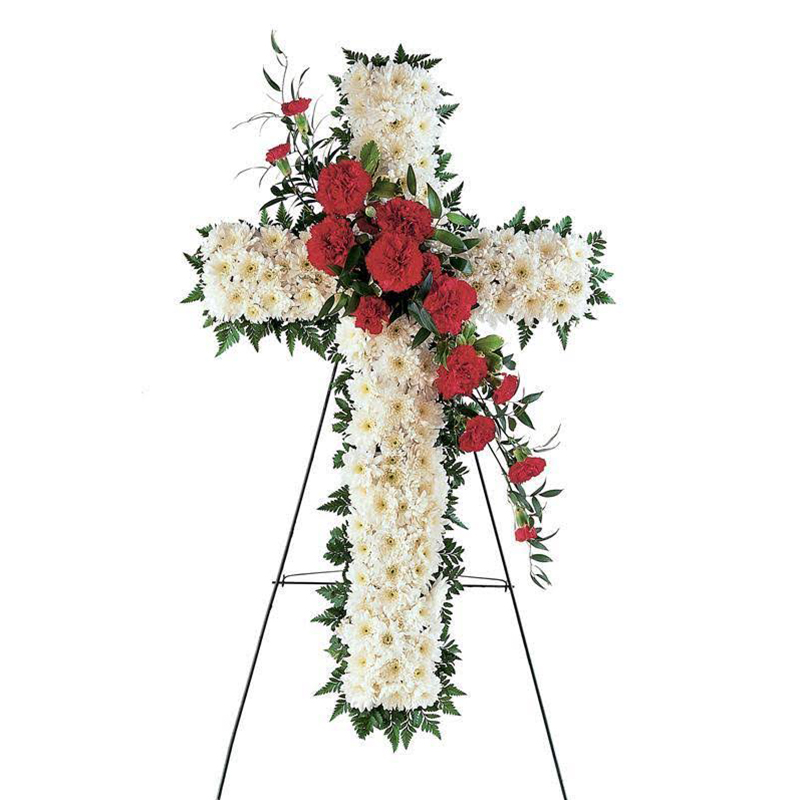 Cross Funeral Spray
